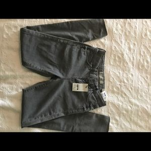 Topshop Moto Leigh Jeans in grey